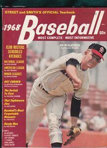 1968 STREET & SMITH Baseball Yearbook JIM McGLOTHLIN Cover Angels Magazine
