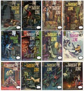 Twilight Zone  #1-92 GOLD KEY comics Complete Run Digital 1963 Rod Serling