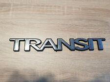 """Original Ford emblème lettrage autocollant /""""TRANSIT/"""" Transit Arrière 2048156"""