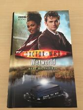 DOCTOR WHO- WETWORLD - BBC HARDBACK BOOK