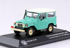 Toyota Bandeirante Land Cruiser grün 1967 1:43 Triple 9  Modellauto 10011
