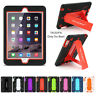 Heavy Duty Shockproof Case Cover Stand For iPad 2/3/4 iPad Air&Pro&Mini 2/3 Lot