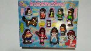 Figure Playset Full Set STILLY THE MAGICAL MIRROR Akko-chan Bandai Japan anime