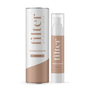 Filter by Molly-Mae Tanning Mousse in Medium 200ml Fake Tan Natural Glow