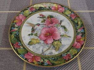 Royal Doulton Franklin Mint Plate The Imperial Humming Bird Theresa Politowicz