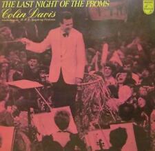 Colin Davis & Orquesta Sinfónica de la BBC (vinilo Lp) la última noche en el Pro-en muy buena condición/en muy buena condición