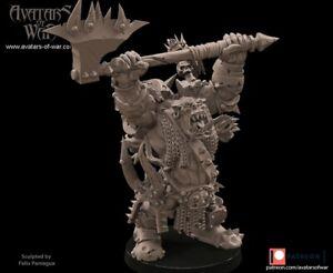 Champions of Destruction - Avatars of War Orc Heroes Greenskin Warboss