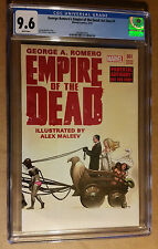 George Romero's Empire of the Dead #1 Frank Cho Variant Error Label CGC 9.6 NM+