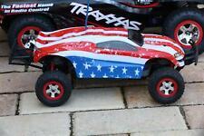 Custom Body USA Flag Style for Traxxas 1:16 Slash / e-Revo 1/16 Scale e Revo