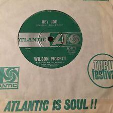 """WILSON PICKETT - - HEY JOE - - 1969 Australian ATLANTIC 7"""" - ( Funk Soul) Oz 45"""