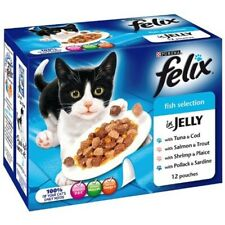 Felix Cat Food Fish Selection In Jelly, 12 x 100 G