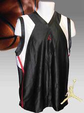 New Nike JORDAN Basketball Shirt Vest Jersey NWT Black White Large L