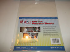 10 x A4 Die Cut Release Sheets Stix 2 Craft Cardmaking For Cutting Machines