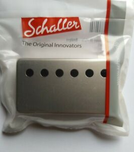 Schaller Humbucker Kappe Cover für Bridge-Pickup Satin Pearl