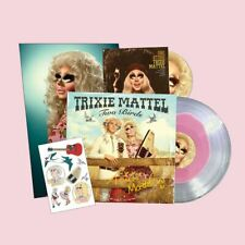 "Trixie Mattel Two Birds / One Stone ""Clear & Pink Blob Coloured"" Vinyl LP RuPaul"