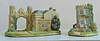 Lilliput Lane ~ THE SUMMERHOUSE & PORTER'S LODGE ~ Boxed & Deeds ~ L3813