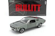 Ford Mustang GT Baujahr 1968 Film Bullitt (1968) grün metallic 1:24 Greenlight