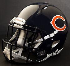 CHICAGO BEARS NFL Authentic GAMEDAY Football Helmet w/ S2EG-SW-SP Facemask