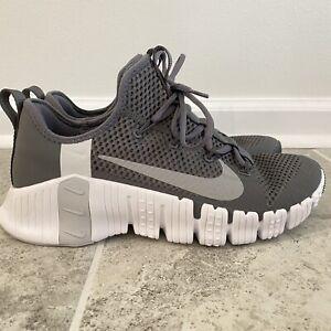 Nike Free Metcon 3 Dark Grey/Volt/Volt/Atmosphere Grey CJ0861-017 Men's Size 9.5