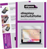 2x Schutzfolie für Apple iPad 10.2 Zoll (2020) klar Displayschutzfolie Display