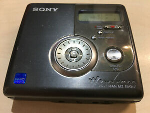 Sony MZ-NH900 HI-MD Walkman Player Recorder Working New Battery