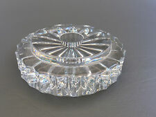vintage Galway Crystal candle holder, Ireland