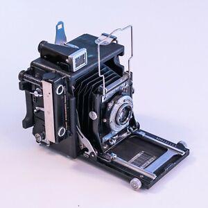 Graflex Miniature Speed Graphic + 101mm f4.5 Kodak Ektar + Graflok Back. VGC