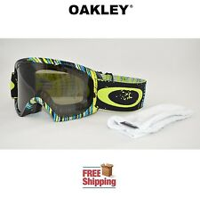 OAKLEY® GOGGLES O2™ XL 02 DUAL LENS SNOW BOARD SKI STUMPED LIME W/ DARK GREY