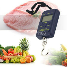 Portable 40kg/10g Electronic Hanging Fishing Digital Pocket Weight Hook Scale US