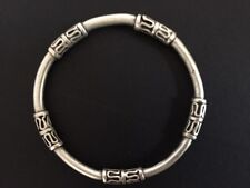 Silver Bangle Bracelet Turkish Ottoman Ethnic Boho Tribal Women Bali