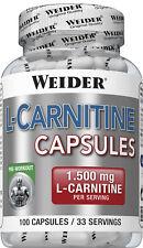 Weider L-Carnitine Kapseln Dose 100 Caps (23,17 EUR/100 g)