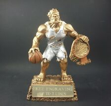 Basketball Monster Trophy. March Madness. Free engraving.