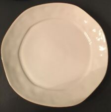 Skyros Designs Cantaria Dinner Plate Ivory with Brown Portugal 4-Available *A875
