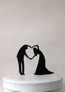 Wedding Cake Topper - Heart Cake Topper
