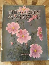 The Garden Magazine. November 1911. Good Condition. Home Publication. Antique