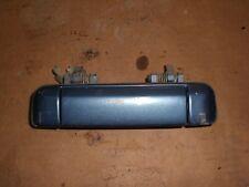 1990 - 1994 Mazda Protege 323 Exterior Door Handle Left Driver Side Blue