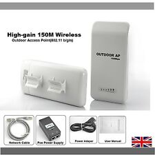 Wireless Outdoor Access Point Extender/Repeater Wifi Long Range Router CPE