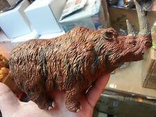 Retired Safari woolly rhinoceros rhino Dinosaur Prehistoric Animal Figure