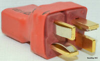 No Wires: T-Plug (Deans Style) Series / Serial Lipo Battery Connector / Adapter