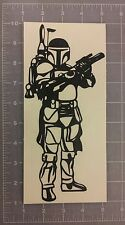 Boba Fett Standing Decal Star Wars Mandalorian Armor Sticker (car laptop wall)