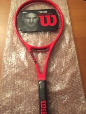 NEW OLD STOCK TENNIS RACQUET WILSON PRO STAFF LAVER CUP RF97 RED VERSION LIM.