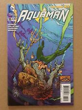 Aquaman (2011) #35 Mark Nelson Monsters o/t Month Variant Cover Nm 1St Printing