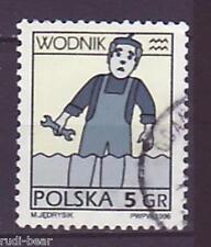 Polonia n. 3610 Gest. stella caratteri wodnik ACQUA UOMO