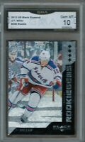 GMA 10 Gem Mint JT J.T. MILLER 2013/14 UD Black Diamond QUADRUPLE <> ROOKIE Card