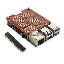 40-Pin GPIO Extension Board DIY Proto HAT Shield For Raspberry Pi 3B/3B+/4B