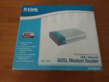 D-Link ADSL Modem router USB/Ethernet DSL-502T ADSL/2+