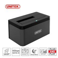 "UNITEK USB 3.0 to SATA 2.5"" 3.5 in Hard Drive External Docking Station Enclosure"