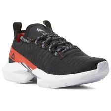 Reebok Sole Fury DV8228 Black/Red Canvas Low Top Athletic Running Shoes Men's 12