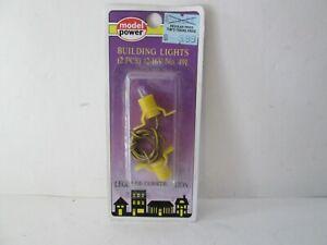 Model Power Building Lights (2 pcs) 12-16v MDP491