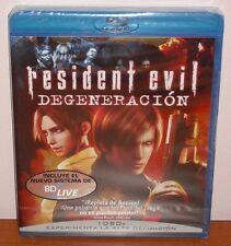 Resident Evil Degeneración (Biohazard Degeneration) [Blu-Ray Region Free] Nuevo